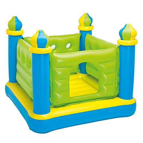 Intex Jr. Jump-O-Lene Castle Inflatable Bouncer, 52 X 52 X 42, for Ages 3-6 by Intex