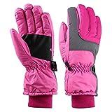 BlackEdragon BlackEdragon Winter Outdoor Soft Liner Atmungsaktiv Winddicht & Wasserdicht Schnee Ski Handschuhe Warme Bergsteigen Handschuhe für Frauen