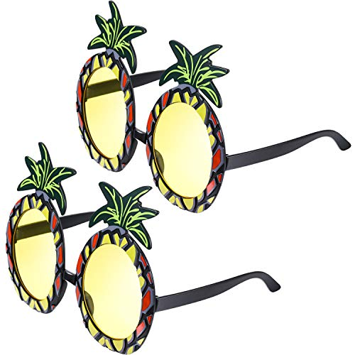 nbrillen Ananas Form Party Brille Hawaiian Tropisch Sonnenbrille für Themed Foto Requisiten Party Zubehör ()