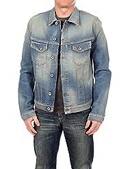 Selected Homme Herren Jeansjacke, Männer Jacke Noel Slim Denim Jacket 1355 Blue