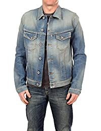Selected Homme Herren Jeansjacke, Männer Jacke Noel Slim Denim Jacket 1355 Blue