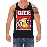 Männer und Herren Trägershirt Männertag Bier Formte Diesen schönen Körper