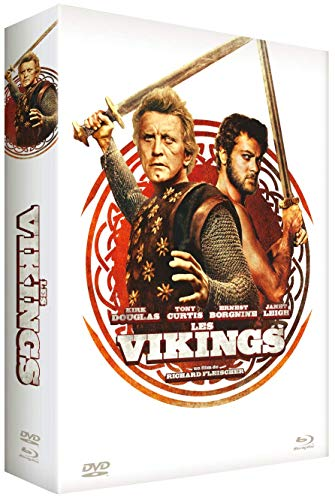 Les vikings [Édition Collector Blu-ray + DVD + Livre]