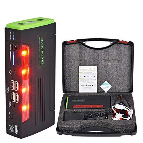 Cabzswh Alimentation de Secours pour Voiture (Voiture à Essence 6.0, Voiture Diesel 4.0) 20000Mah, Courant de Pointe 600A, lumières LED