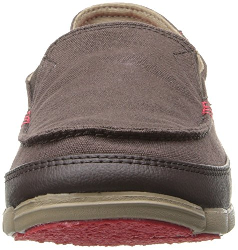 Slipper Herrenschuhe loafer Khaki stretch m Braun Espresso crocs soal fit relaxed 0qPxFnS