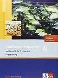 Lambacher Schweizer - aktuelle Ausgabe für Baden-Württemberg/Selbsttraining Paket 8. Schuljahr: 10 Hefte mit zusätzlichen Aufgaben und Lösungen