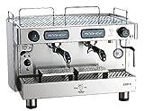 Bezzera B2D Bistro Espresso Kaffeemaschine 2 Gruppe 135mm Unter