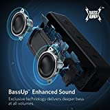 from Anker Anchor Core 2Bluetooth Speaker with Dual Drivers Better Bass Pack of 24Playing Time 20m Range, IPX5Water resistant with Built-in Microphone, Wireless Speaker for iPhone, Samsung etc. (Black) Model AK-A3105011