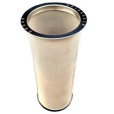 froid Brew machine à café en vrac Thé glacé Infuseur en acier inoxydable réutilisable Passoire pour Regular Bouche Mason Canning bocaux