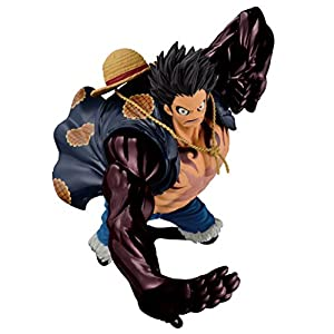 Banpresto 33820P – Figuras One Piece SCultures Big Zoukeio Special – Gear Fourth Monkey D. Luffy 10