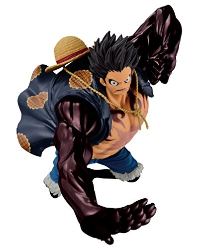 Banpresto 33820P Figurine 1pièce sculptée, Big Zoukeio spécial représentantGear Fourth Monkey D. Luffy