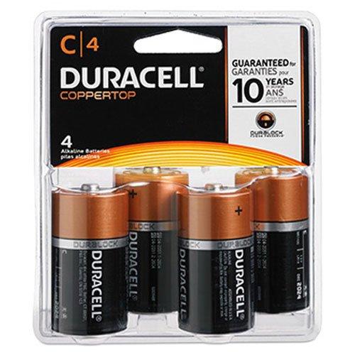 Coppertop Alkaline Batterien mit DURALOCK LR03Power wertvolle Technologie, C, 4/Pack, verkauft als One Pack - Coppertop Alkaline-batterien