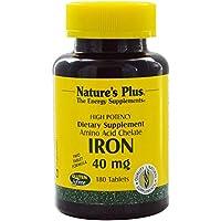 Iron / Eisen Aminosäurechelat 40 mg (2x20mg) 180 Tabletten NP preisvergleich bei billige-tabletten.eu