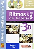 Ritmos & Breaks de Bateria en 3D +CD