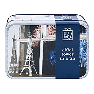 Eiffel Tower in a tin