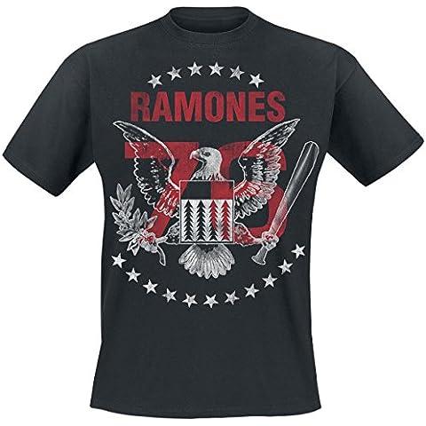 Ramones Tour 1976 Camiseta Negro