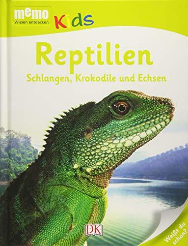 memo Kids, Band 18: Reptilien: Schlangen, Krokodile und Echsen -