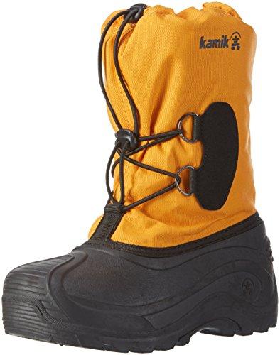 Kamik Southpole3, Bottes mi-hauteur avec doublure chaude mixte enfant Orange - Orange (MAN-MANGO)