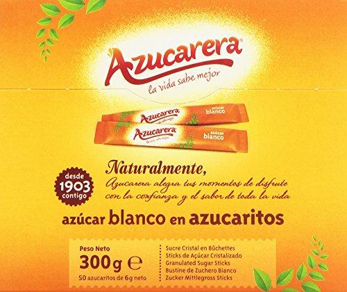 Azucarera - Azúcar blanco en terrones - 50 azucaritos - [pack de 5]