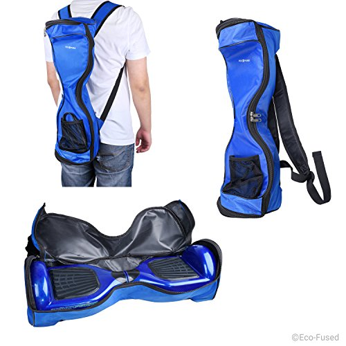 Waterproof Backpack to Carry and Store your Drifting Board (Two Wheels Smart Balance Board Scooter Electric Self Smart Drifting Board) - Mesh Pocket - For 7