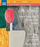 Suite scythe (Ala et Lolly), op. 20 - Automne - esquisse symphonique, op. 8 - Symphonie n° 3 en ut mineur, op. 44 (Blu-Ray Disc Audio)