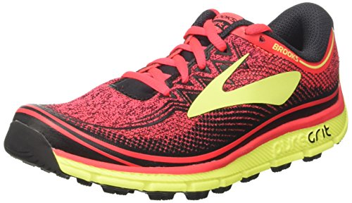 Brooks PureGrit 6, Scarpe da Corsa Donna Multicolore (DivaPink/Nightlife/Black)