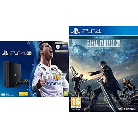 Pack PS4 Pro + FIFA 18 Deluxe + Final Fantasy XV