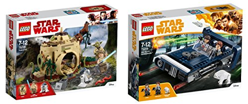 LEGO Star Wars 2er Set: 75208 Yodas Hütte + 75209 Han Solo\'s Landspeeder