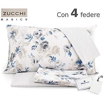 pensieri su prezzo limitato fashion design Completo letto MATRIMONIALE Bassetti chic Art. CLAYTON Var. AZZURRO