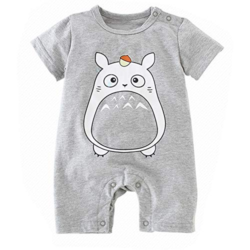 Mermaid Unicorn Girls Dress Baby Jungen Strampler Totoro Overall Kleinkind Outfits Casual Buttons Playsuit - Totoro Strampelanzug Kostüm