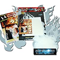 Schneidmeister EZ Flames vol. 01 Set sagome per aerografo, 14 pezzi, fiamme