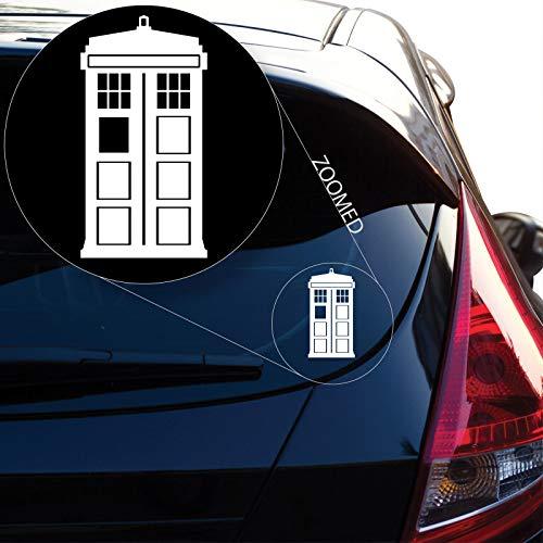 Preisvergleich Produktbild ZYFAOZHOU Tardis inspiriert Doctor Who Vinyl Aufkleber Aufkleber