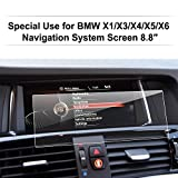 LFOTPP BMW X3 X4 8,8 Pouces Navigation Verre Trempé - Dureté 9H Film Protection GPS Nav Écran Protecteur Vitre