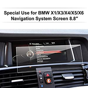 bmw accessoires lfotpp film protection pour bmw x1 x3 x4 x5 x6 8 8 pouces navigation protection. Black Bedroom Furniture Sets. Home Design Ideas