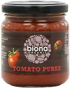 Biona Organic Tomato Puree 200 g (Pack of 12)