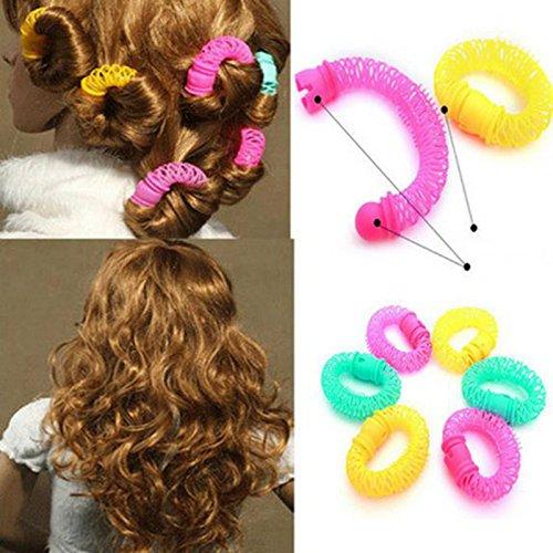 EvaluBuy (TM) 8pcs / pack Art und Weise DIY neue Donuts bequem Lockenwickler Haar-Tools Haar-Styling-Tools (China Modeschmuck Lieferanten)