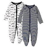 Baby-Jungen Schlafstrampler-3 Monate,2er Pack,von Future Founder