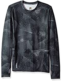 Duofold Men's Mid Weight Fleece Lined Thermal Shirt, Mist Ceramic Gray, 2X Large