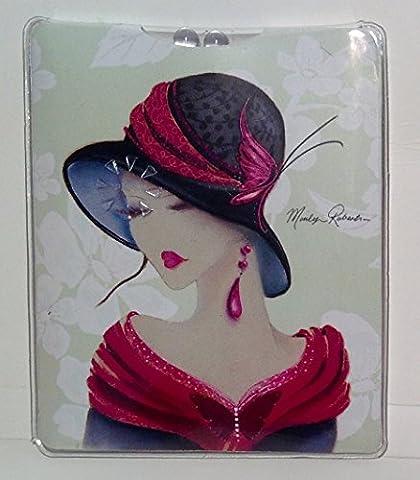Maranda-Ti MT115 Lampe de poche de sac à main en plastique Motif Amelia Marilyn Robertson Multicolore