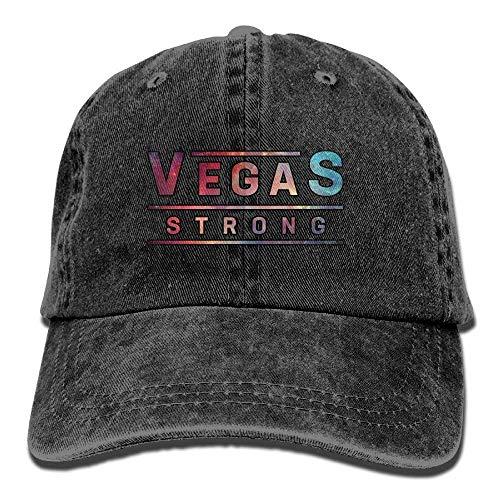 Hoswee Cappellino da Baseball/Berretto da Baseball, Vegas Strong Fit Denim Hat Cappellini