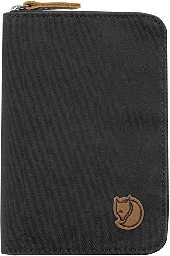 Fjällräven Brieftasche Travel Wallet Portemonnaie, Dark Grey, 22 x 12 x 2 cm