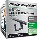 Rameder Komplettsatz, Anhängerkupplung abnehmbar + 13pol Elektrik für Toyota AURIS Touring Sports Kombi (150538-11280-1)