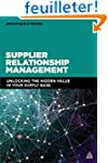 Supplier Relationship Management: Unl...