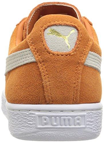 Puma Suede Classic+Water Wildleder Turnschuhe Burnt Orange-Puma White