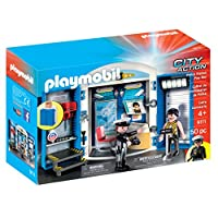 Playmobil City Action Police Station Play Box Building Set 9111