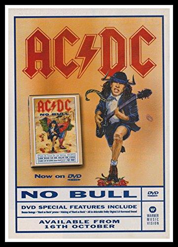 Original-Portariviste A4 con Cornice portafoto con ventosa, motivo: AC/DC, Angus Young & Brian Johnson