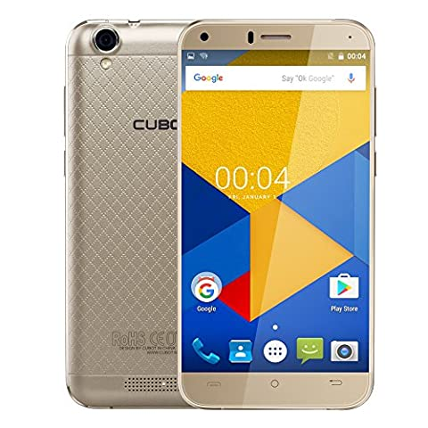 Cubot Manito 4G LTE Smartphone 5.0 Zoll HD Display, 3GB