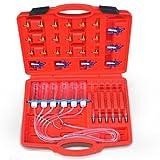 Jago - Kit test débit pour injecteur à rampe commune et adaptateurs...