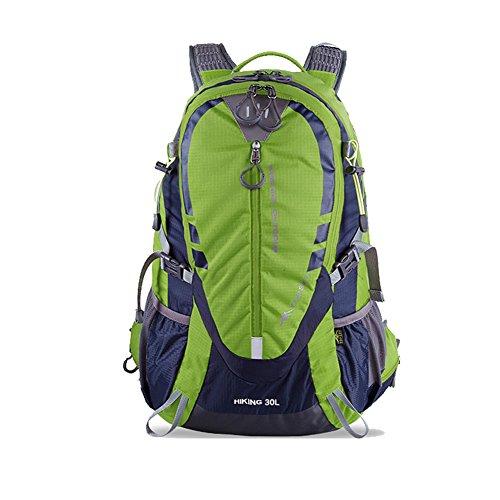 Outdoor Bergsteigen-Tasche/Paar Wanderrucksack/ Radsport Rucksack/ Reise-Rucksack Grün