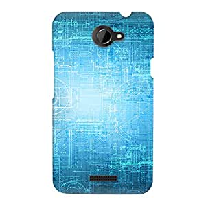 Perfect Print Back Cover For HTC One X